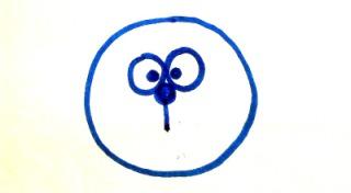 как нарисовать кроша из смешариков