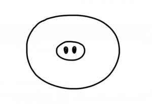 как нарисовать черта