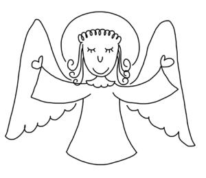 Как нарисовать ангела по шагам